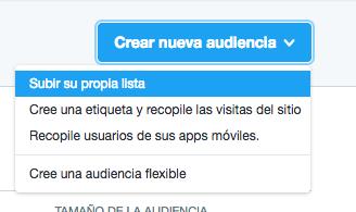 Como crear campañas de Twitter Ads