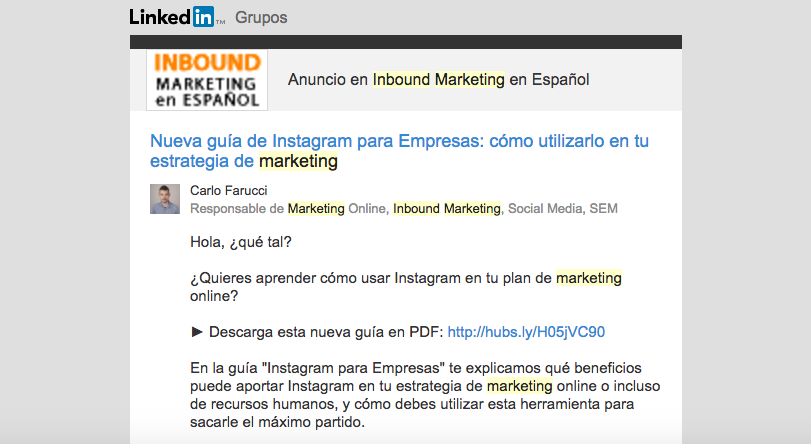 Grupos de Facebook, Linkedin y Google+ de marketing y cómo aprovecharlos