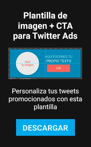 LAT – Plantilla de Imagen + CTA para Twitter Ads