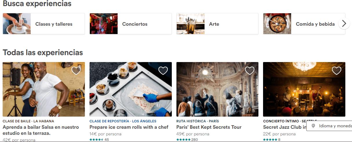 airbnb estrategia contenido