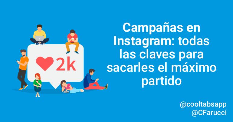 campañas en instagram