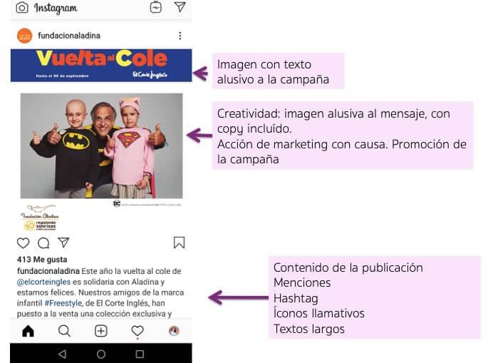 Mejora comunicacion en Instagram para tu ONG